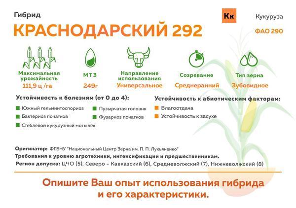 Краснодарский 292